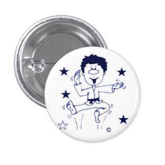 Celebration Boy pinback button