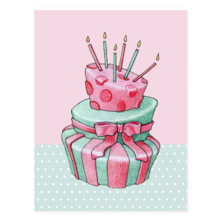 Celebration Cake Postcard