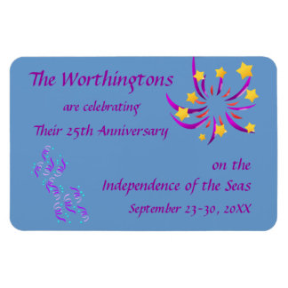 Celebration Cruise Cabin Door Marker Magnet