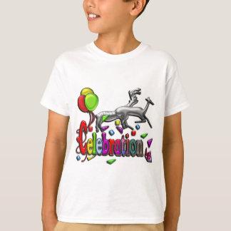 Celebration Digital Art Clear Apparel T-Shirt