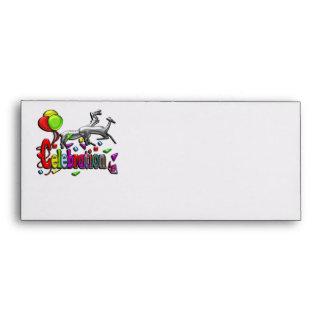 Celebration Digital Art Envelope