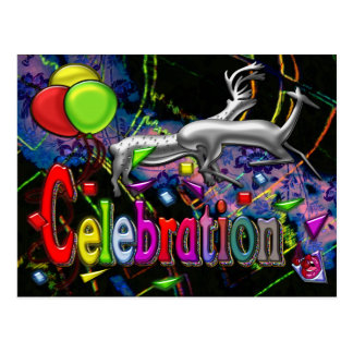 Celebration Digital Art Print Postcard