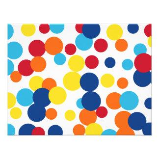 Celebration Dots  Invitations