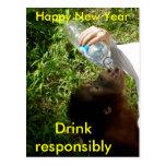Celebration Drinking Postcard