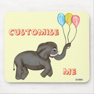 Celebration Elephant. Mouse Pad