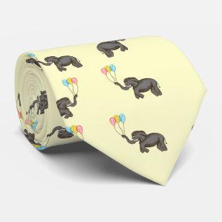 Celebration Elephant (Neutral) Neck Tie