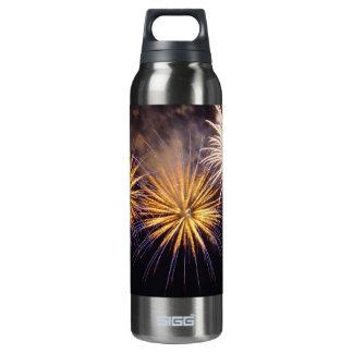 Celebration firework 16 oz insulated SIGG thermos water bottle