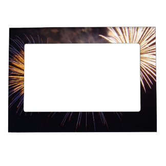 Celebration firework magnetic frame