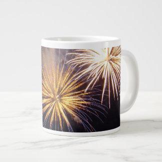 Celebration firework jumbo mugs