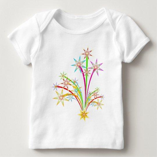Celebration fireworks baby T-Shirt