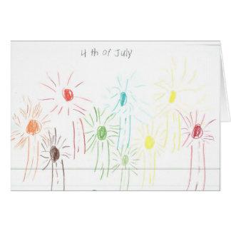 Celebration Fireworks Card! Card