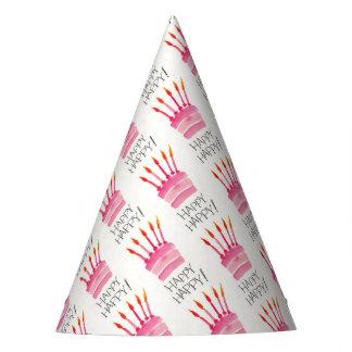 Celebration Happy Happy Cakes. Party Hat