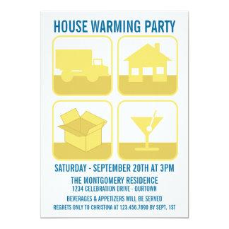 Celebration Housewarming Party Invitation