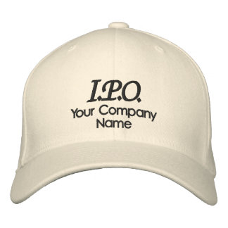 Celebration I.P.O. Embroidered Baseball Hat