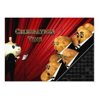 Celebration Invitation - Music - POTATO FAMILY