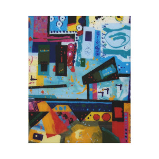 Celebration is a fun abstract celebration of life canvas print