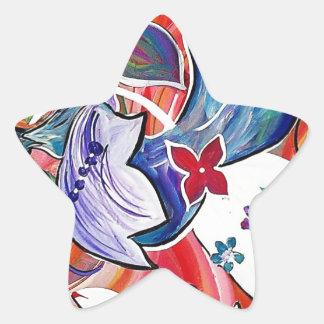 CELEBRATION JUBILEE STAR STICKER