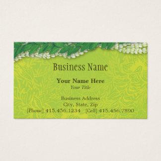 celebration lei business card
