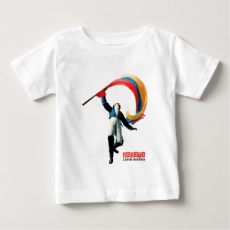 Celebration of colombian 3 STRETCHED.gif Baby T-Shirt