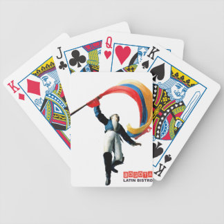 Celebration of colombian 3 STRETCHED.gif Bicycle Playing Cards