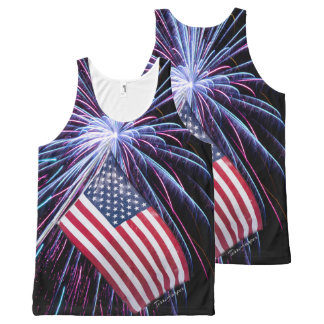 Celebration Of Freedom All-Over-Print Tank Top