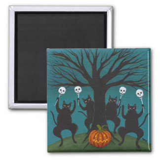 Celebration of Halloween 2 Inch Square Magnet