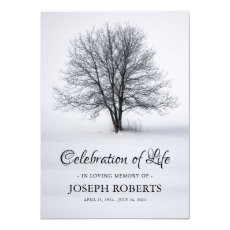 Celebration of Life | Funeral Memorial Tree