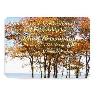 Celebration of Life - Invitation