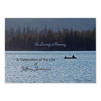 Celebration of Life Invitation, Fishermen