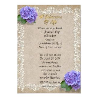 Celebration Of Life Invitations Announcements Zazzle