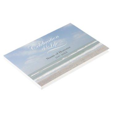 GoodLifeMemorials Celebration of Life Ocean Memorial Guest Book