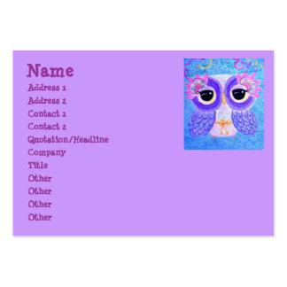 Celebration Of Life Owl Namecard