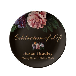 Celebration of Life Personalized Porcelain Plate 1
