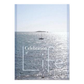 Celebration of Life Seascape 2 - Invitations
