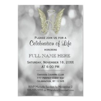 Celebration of Life - Silver Card
