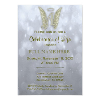 Celebration of Life - Silver & Gold Card
