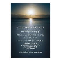 Celebration of Life | Sun Over the Ocean Card