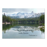 """Celebration of Life To Everything There Is Season 5"""" X 7"""" Invitation Card"""