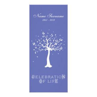 Celebration of Life with Photo | Elegant Tree Invitation