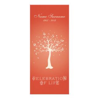 Celebration of Life with Photo | Elegant Tree Custom Announcement