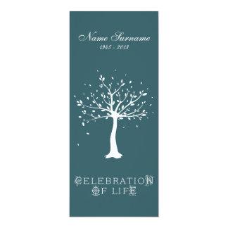 Celebration of Life with Photo | Elegant Tree Personalized Invite