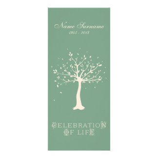 Celebration of Life with Photo | Elegant Tree Invitations
