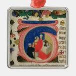 Celebration of the Eucharist Metal Ornament