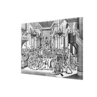 Celebration of the Goddess of Reason Canvas Print