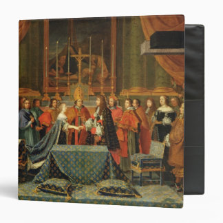 Celebration of the Marriage of Louis XIV Binder