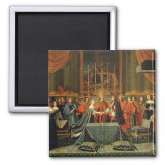 Celebration of the Marriage of Louis XIV Magnet