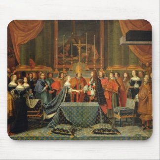 Celebration of the Marriage of Louis XIV Mouse Pad