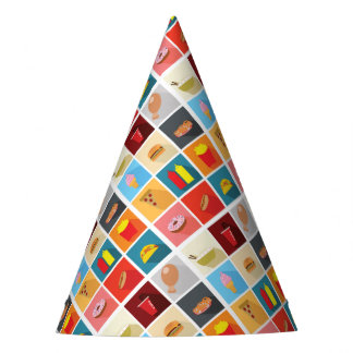 Celebration Party Fast Food Favorites Party Hat