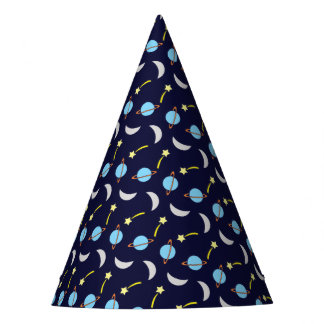 Celebration Party Planets and Stars Party Hat