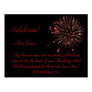 Celebration! Postcard